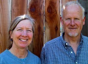 Sherrie Althouse and Phil Van Soelen of California Flora Native Plant Nursery